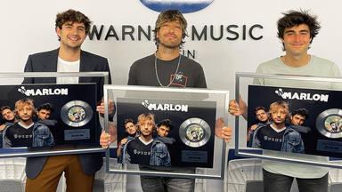 """Marlon logra su primer disco de platino con """"Tequila y Candela"""": """"¡Esto es vuestro!"""""""