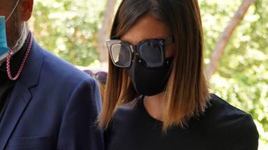 Alba Santana ultimo adios a Mila Ximenez en Madrid