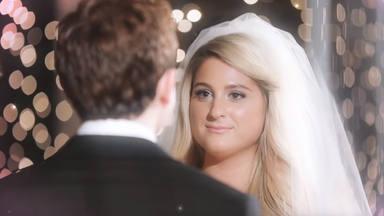 """Meghan Trainor nos enseña su propia boda en el videoclip de """"Marry me"""""""