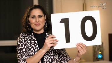 Rosa López puntúa a Laura Matamoros en 'Ven a cenar conmigo'