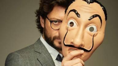 Álvaro Morte, actor que encarna a El Profesor en 'La casa de papel'