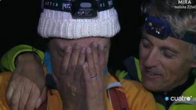 Sandra Barneda rompe a llorar con Jesús Calleja: de los problemas de salud de su hermano a su nueva etapa