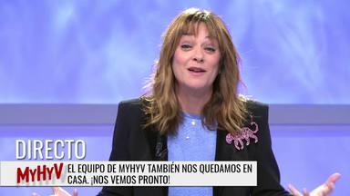 Toñi Moreno se despide de 'MYHYV' por el coronavirus