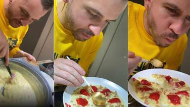 Dabiz Muñoz hace arroz con leche y arrasa en redes