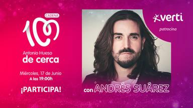 Antonio Hueso de cerca con Andrés Suárez