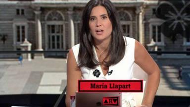 María Llapart llora en pleno directo