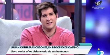 El distanciamiento familiar de Julián Contreras