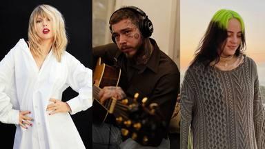 Taylor Swift, Post Malone y Billie Eilish, entre los artistas que más ingresos generaron en 2020