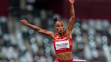 Ana Peleteiro, medalla de bronce en triple salto en los Juegos Olímpicos de Tokio 2020