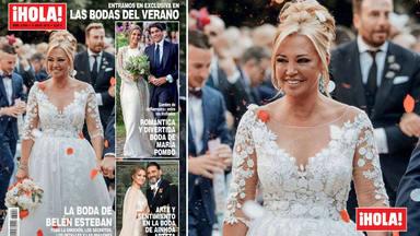 Belén Esteban hace historia en la prensa del corazón: sin Miguel ni Andrea Janeiro en portada del ¡Hola!