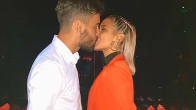 El apasionado beso con el responde Gloria Camila a las críticas y presenta oficialmente a su chico David