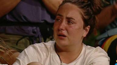 Rocío Flores se rompe en la palapa de Supervivientes