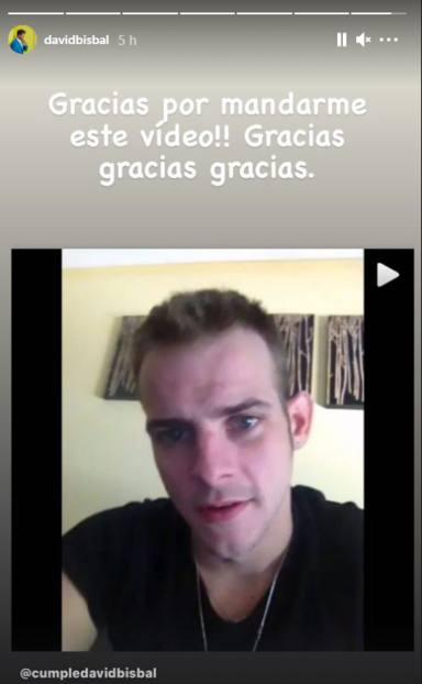 Bisbal publica su recuerdo más bonito de Álex Casademunt: Gracias por este vídeo