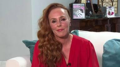Rocío Carrasco en una imagen desde su casa durante la emisión de su documental