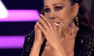 Isabel Pantoja, rota de emoción, en 'Top Star'