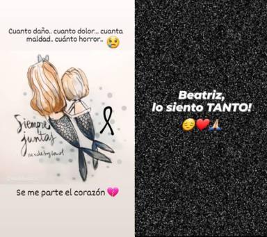 Paula Echevarría muestra sus condolencias a la madre de las niñas de Tenerife muertas