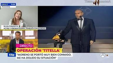 Silvia Fominaya entra en Espejo Público para defender a José Luis Moreno en directo
