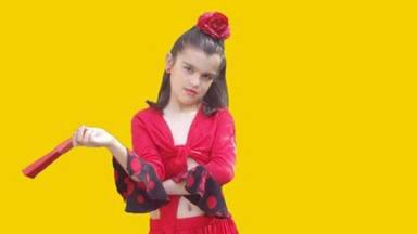 Amaia muestra su vena más flamenca en un vídeo de lo más tierno
