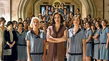 Ana Fernández, Blanca Suárez y Nadia de Santiago en 'Las chicas del cable'