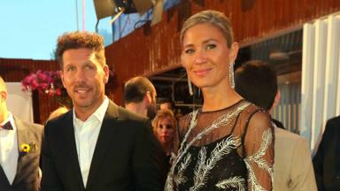 Diego Simeone y Carla Pereyra se casan por segunda vez en una ceremonia íntima