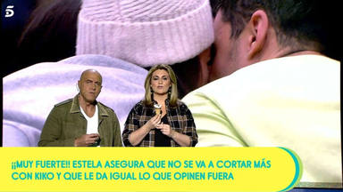 Kiko Matamoros contra su nuera: supuesto beso y acercamiento definitivo entre Estela Grande y Kiko Jiménez