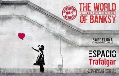Arriba a Barcelona una exposició sobre Banksy