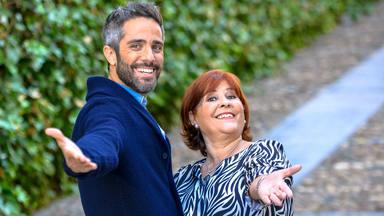 Roberto Leal y su madre en Escala Sur