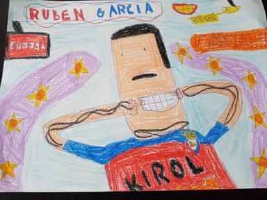 """Rubén García, jugador de Osasuna, regalará una camiseta al dibujo más """"chachipiruli"""""""