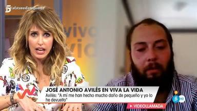 Emma García, muy tajante en su entrevista a José Antonio Avilés