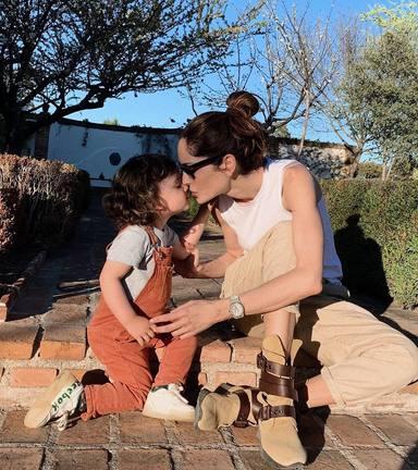 Eugenia Silva celebra el cumpleaños de su hijo