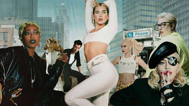 Dua Lipa Madonna y Missy Elliott Levitating