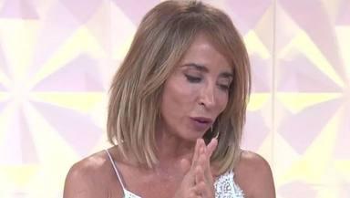 María Patiño habla muerte de su padre