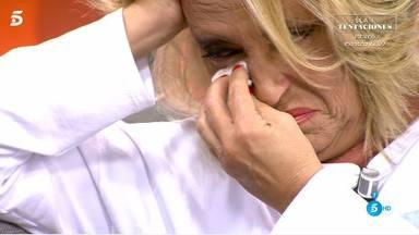 Lydia Lozano rompe a llorar en 'Sálvame' por culpa del director Valldeperas