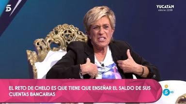 Chelo García Cortés abandona 'Quiero dinero' enfadada al tener que traspasar los límites