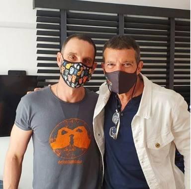 Dani Rovira y Antonio Banderas, juntos en la lucha por la cultura y el teatro