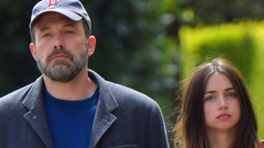 Ben Afleck lanza un mensaje subliminal para poner fin a los rumores de crisis con Ana de Armas