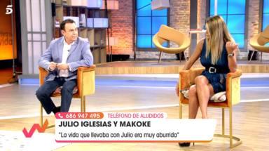 """El verdadero motivo por el que Makoke acabó dejando a Julio Iglesias: """"Le dije que me iba y no volví"""""""
