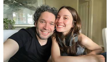 El amor de María Valverde y Gustavo Dudamel