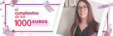 ¡Sandra Sopena de Huesca ha ganado 1.000 euros!