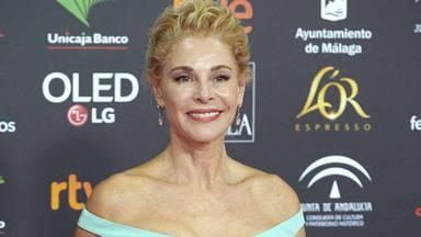 Belén Rueda, como una auténtica princesa Disney en la alfombra roja de los premios Goya