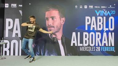 """Pablo Alborán: """"cantaría igual para 10 personas que para un Estadio"""""""