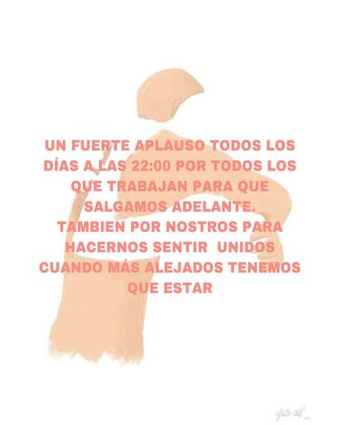 El #aplausosanitario emociona a España