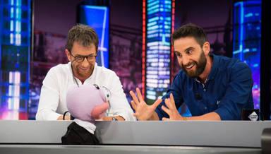 Dani Rovira y Pablo Motos durante un programa de El Hormiguero