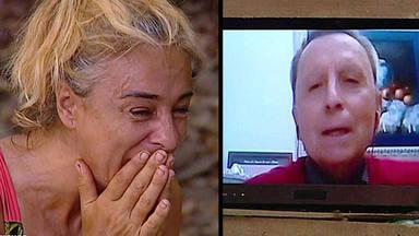 Ana María Aldón no puede contener las lágrimas con Ortega Cano