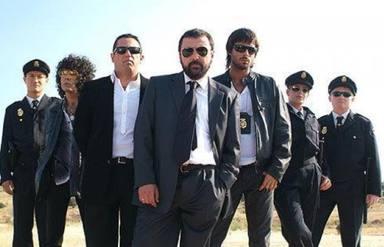 El equipo de Los hombres de Paco al completo