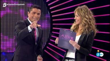Emma García y Alfonso Merlos compartieron plató en el programa Abre los ojos y mira