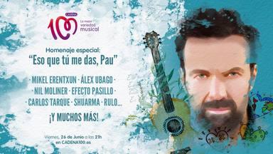 Nuevas confirmaciones para el tributo 'Eso que tú me das, Pau' a Pau Donés en CADENA 100