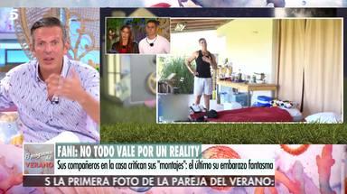 Joaquín Prat deja las cosas claras a Christofer y Fani