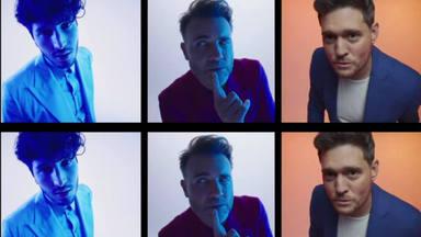 """Todo a punto para el videoclip de """"Elita"""" con Gary Barlow, Michael Bublé y Sebastián Yatra"""