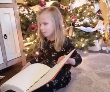 La reacción de una niña ciega al descubrir uno de los mayores regalos en su vida, es ahora viral